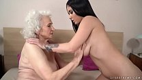 Watch Nasty shit with grandma and younger milf preview