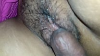 Watch Dick plays with hairy pussy preview