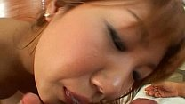 Lovely Momo Himeno gives amazing blowjob here
