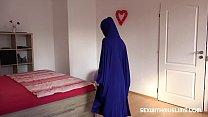 Hot muslim milf loves hard sex