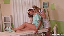 Lesbian nurse Nikky Dream cures patient Ani Bla...