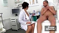 Huge natural boobs doctor Milf Eva