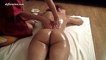The girl is the first time in her life naked be...