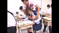 The student girl in class by the rich boy | Wat...