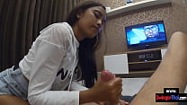 Amateur Thai GF is a young babe who gave him a ...