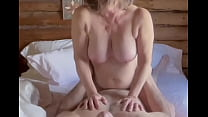 Chubby Horny milf sucks her partner's cock befo...