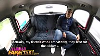 Watch Female Fake Taxi Tourist creampies and gets a wet pussy_welcome preview