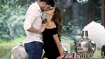Hot couple banging in sensual session