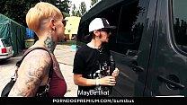 LETSDOEIT - Hot Van Fuck With A Real Hot Big As...