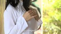 Japanese actor in white dress / full clip: http...