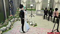 Bulma Marriage Episode 2 Beautiful Newly Marrie...