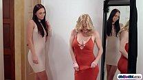 Busty stepmom is excited for datenight with her...