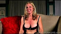 Naughty old spunker loves to talk dirty and pla...
