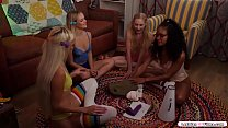Two girls have picked each other to have sex.Th...
