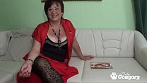 Dumpy mature granma gets fucked and cumshot on ...