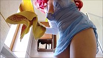Aunt Chantal loves to show off her beautiful bo...