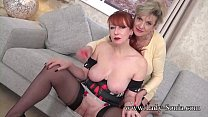 Two busty older women want to watch you masturbate