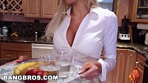 BANGBROS - Stepmom Nina Elle Has Threesome With Natalia Starr's Thumb