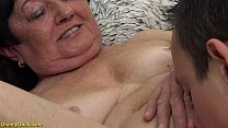 hairy 82 years old granny deep and rough fucked