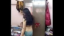 cute Indicute girl in house with boyfriend and ...