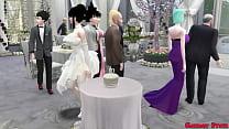 Milk's Marriage Episode 1 The Wedding of Goku a...