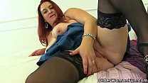 Lovely milf Tammy from the UK has put on her bl...