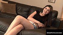Super hot 18 year old Miranda Miller gets her i...