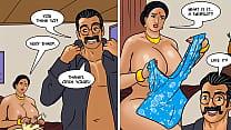 Velamma is celebrating her anniversary in the e...