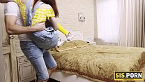 SIS.PORN. Teen with small titties does everythi...