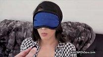 Latina girlfriend fucked on pov sex tape