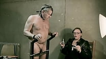 Mistress April - her slave is like a piece of s...
