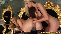 Fisting fetish blondes in sexy stockings Thumbnail