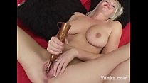 Sexy amateur babe from Yanks Anna cumming for you