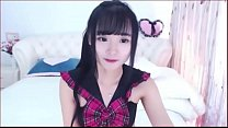 Sexy asian camgirl fucks herself with dildo and...