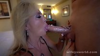 Watch Busty Blonde MILF Fucked Hard And Cum Blasted preview