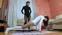 Strap-on usually goes to Noa as she loves to fu...