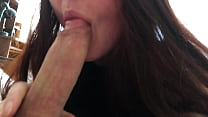 Wife sucks my dick, jumps on my dick and gets c...