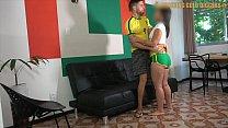 Money Hungry Brazilian Big Ass Teen Gets Fucked...