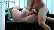 Nini gets fucked her big ass by a  virgin fan!