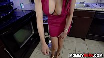 My hot mom blackmailed me into fucking her