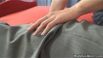 Watch She finds old mom riding her hubby's dick preview