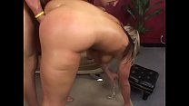 Booty and busty blonde MILF gets anal plowed do...
