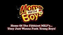 Moms With Boys MILF Maya Lee's Asian Pussy Scor...