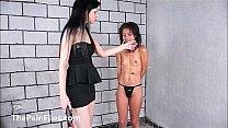 Pollys lesbian BDSM and elecTro of teen masochi...