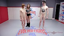 Petite Alexa Nova gets_hard anal sex in rough nude wrestling at Evolved Fights Thumbnail