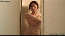 Japanese teen showering