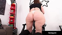 Video Vixen, Sara Jay, with over 400 Adult Film...
