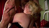 Beautiful beefy oldspunker enjoys hardcore sex ...