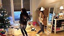 Spandex See_through Leggings Party at home Thumbnail