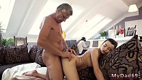 Teen lesbian first time eating pussy  brunette ...